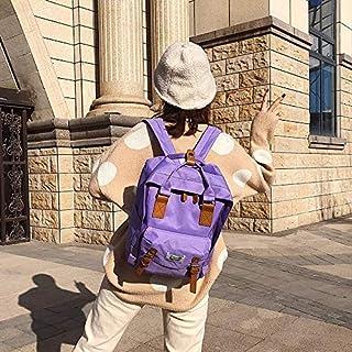 Luggage & Bags Oxford Cloth School Backpack Casual Handbag Waterproof Shoulder Bag (Green) Luggage & Bags (Color : Purple)