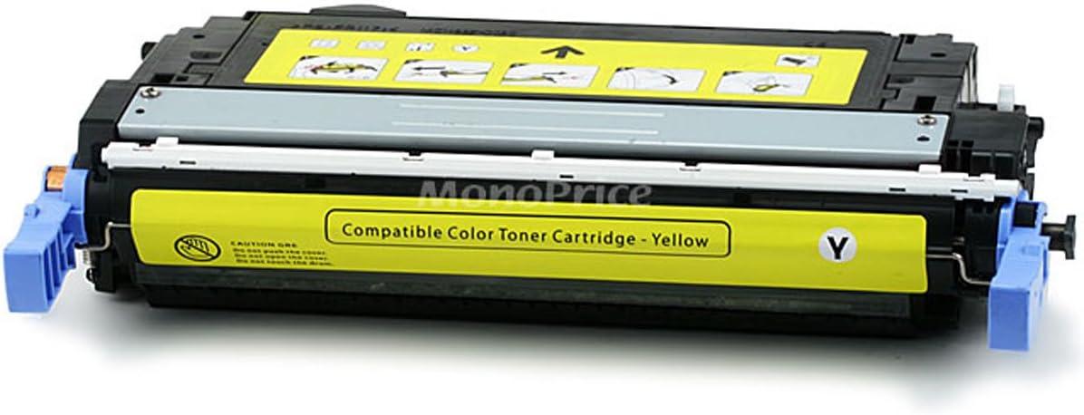 Monoprice 109096 MPI Remanufactured HP Q5952A Laser/Toner - Yellow