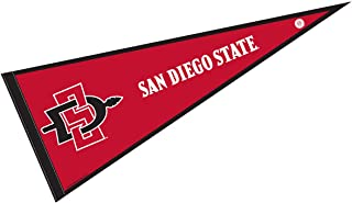 College Flags and Banners Co. San Diego State University Pennant Full Size Felt