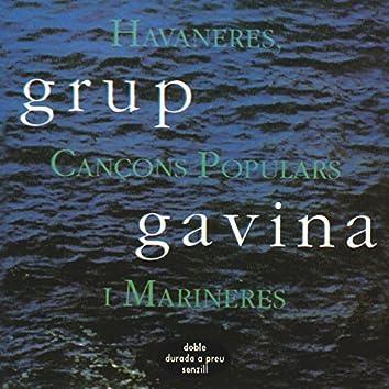 Havaneres, Cançons Populars I Marineres