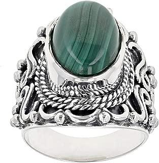 Best green malachite ring Reviews