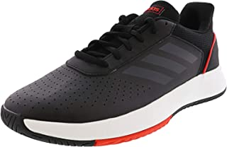 adidas black high ankle shoes