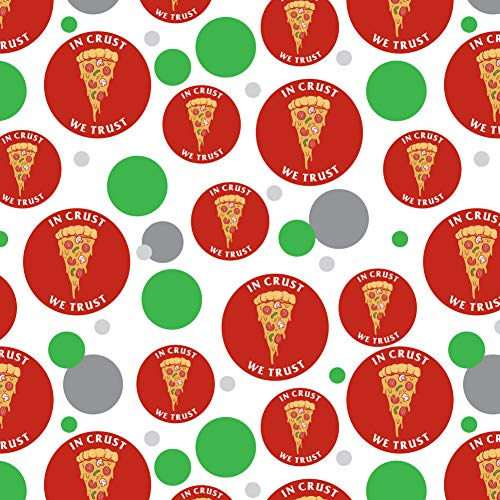 GRAPHICS & MORE in Crust We Trust Pizza Funny Humor Premium Gift Wrap Wrapping Paper Roll