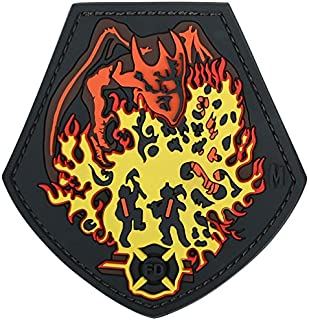 Maxpedition Fire Dragon Patch, Color