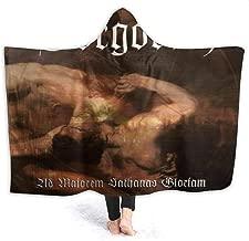FrankIJohnson Gorgoroth Ad Majorem Sathanas Gloriam Hooded Blanket,Fashion Design Blanket,Lightweight,Comfortable,All Seasons