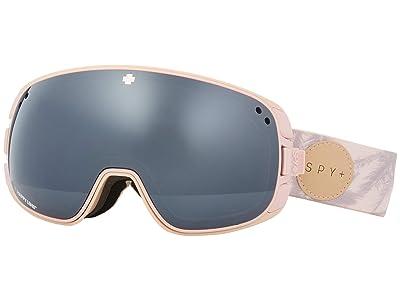 Spy Optic Bravo (Spy+Helen Schettini Happy Gray Green w/ Silver Spectra) Snow Goggles
