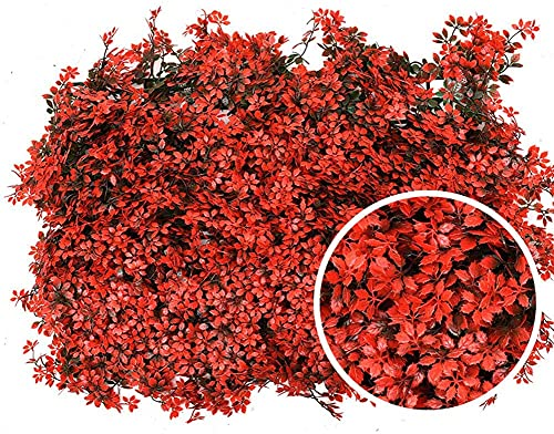 HSWYJJPFB Privacy Screen Artificial Screening Faux Ivy Vine Leaf Decorative Artificial Plants Decorative Fences for Outdoor Garden Backyard Balcony DecorGreen Artificial Mesh Balcony Screening Privacy