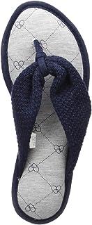 Women's Df Textured Knit Thong Slipper