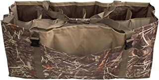 Baosity 2pcs Lightweight 600D Nylon 12-Slot Deluxe Duck Decoy Bag Camo Fits A Wide Variety of Life Size Duck Decoys