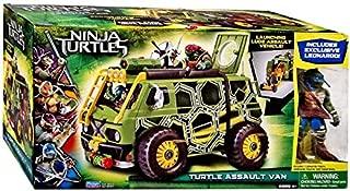 Teenage Mutant Ninja Turtles TMNT 2014 Movie EXCLUSIVE Turtle Assault Van [Leonardo Figure!]