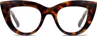 Retro Vintage Cateye Sunglasses for Women UV400 Mirrored...