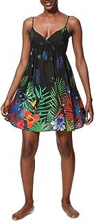 comprar comparacion Desigual Dress Swimwear SIA Woman Black Vestido para Mujer