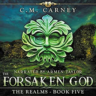 The Forsaken God: An Epic LitRPG/GameLit Adventure cover art