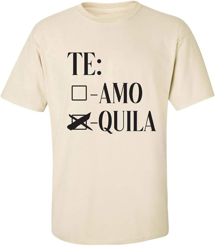 Te Amo Quila Adult Short Sleeve T-Shirt