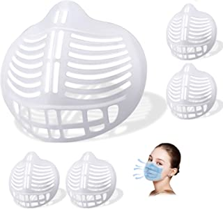 3D Mask Bracket,WETBEN Lipstick Protection Soft Stand for Comfortable Mask Wearing by Creating More Space for Breathing Wa...