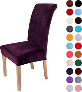 Best purple dining room chair covers Reviews