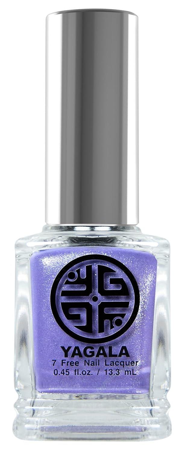 照らすモディッシュモザイクYaGaLa ネイルラッカー043Russian Lilac グリッターシアー