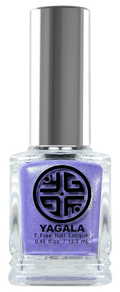 シーフード記事周りYaGaLa ネイルラッカー043Russian Lilac グリッターシアー