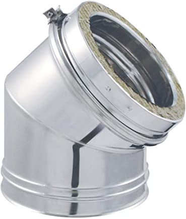 ISOTIP-JONCOUX 032515 Coude Secteur 90/° Tyral 304 Diam/ètre 153 Inox