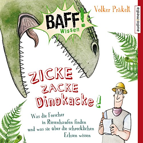 Zicke Zacke Dinokacke! audiobook cover art
