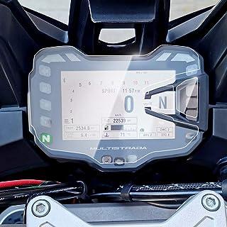 Displayschutzfolie Tachoschutzfolie Screen Protector Aufkleber passend für DUCATI Multistrada 1200 950 2015 2018,2 x Ultra Klar