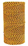 W. Rose RO689 Super Tough Professional Bonded Braided Nylon Mason's Line, 685-Feet, Black/Gold/Orange