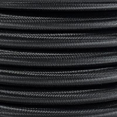 """PARACORD PLANET Elastic Bungee Nylon Shock Cord 2.5mm 1/32"""", 1/16"""", 3/16"""", 5/16"""", 1/8"""", 3/8"""", 5/8"""", 1/4"""", 1/2 inch Crafting Stretch String 10 25 50 & 100 Foot Lengths Made in USA"""