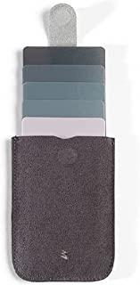 (Grey Black) - DAX Wallet: The world's first pull tab card wallet with beautiful and quick access to your credit cards with one simple pull. Up to 6 cards. Presented by MakakaOnTheRun (Grey Black)