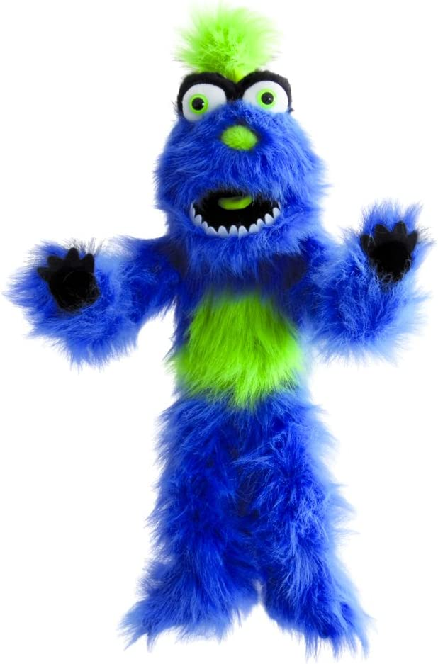 The Puppet Company Monster Blue Max 89% OFF Weekly update Hand