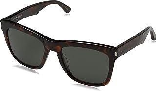 329144d4d1f Saint Laurent 137 Devon 002 Havana Grey 137 Devon Square Sunglasses Lens  Catego