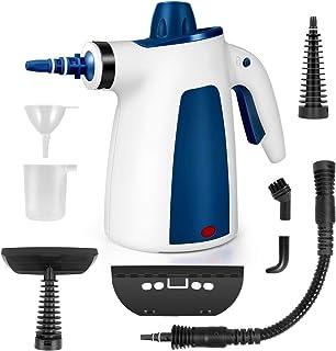 پاک کننده بخار PentaBeauti ، تمیز کردن بخار بدون مواد شیمیایی با مجموعه لوازم 9 پارچه ، بخار پاک کن چند منظوره با قفل ایمن برای از بین بردن لکه ، پرده ، صندلی ماشین ، کف ، پنجره و موارد دیگر