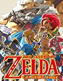 The Legend Of Zelda Coloring Book: Over 45 High Quality Coloring Pages For Relaxation And Stress Relief