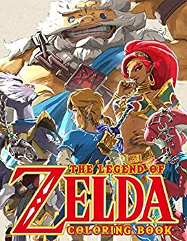 The Legend Of Zelda Coloring Book  Over 45 High Quality Coloring Pages For Relaxation And Stress Relief