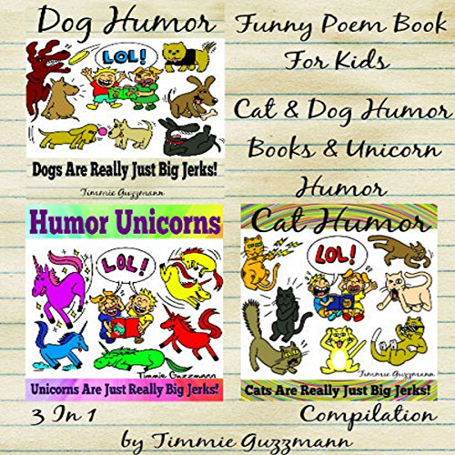 Funny Poem Book for Kids - 3 in 1 Compilation audiobook cover art