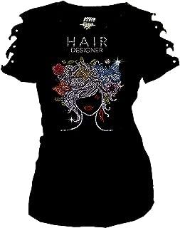 Best rhinestone t shirts for hair stylist Reviews