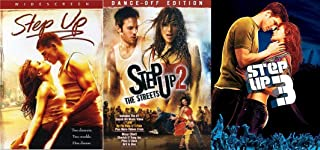 1-2-3 Pirouette Bundle - 3-DVD Step Up Set Step Up 2: The Streets (Dance-Off Edition) and Step Up 3 -Movie Collection