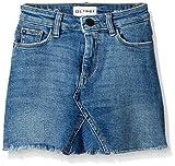 DL1961 Girls' Big Jenny Mini Skirt, Blue Rose, 8