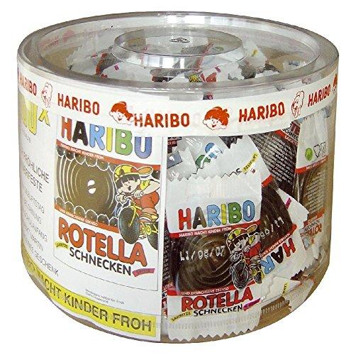 Haribo Lakritz Schnecken 200 Minibeutel, 2er Pack (2 x 1.27 kg)