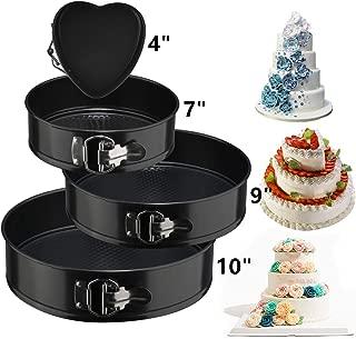 Springform Cake Pan Set,3pcs Round(7