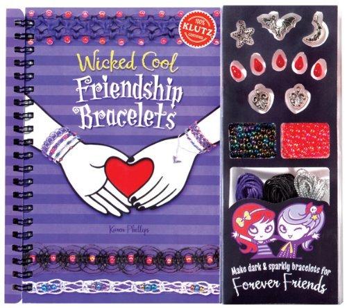 Wicked Cool Friendship Bracelets [With Charms, Bracelet-Maki