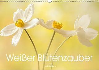 Weißer Blütenzauber (Wandkalender 2021 DIN A3 quer): Zarte weiße Blütenfotos verzaubern uns das ganze Jahr (Monatskalende...