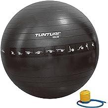 Tunturi Gymball 55cm, Black, Anti Burst