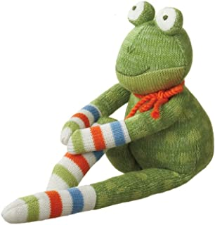 MIDWEST-CBK Fritz Frog Acrylic Yarn Collectible, Small