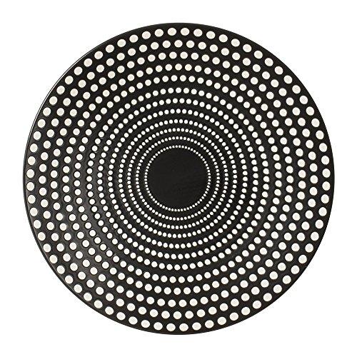 Table Passion - Assiette plate Galaxy Pois 27 cm (Lot de 6)