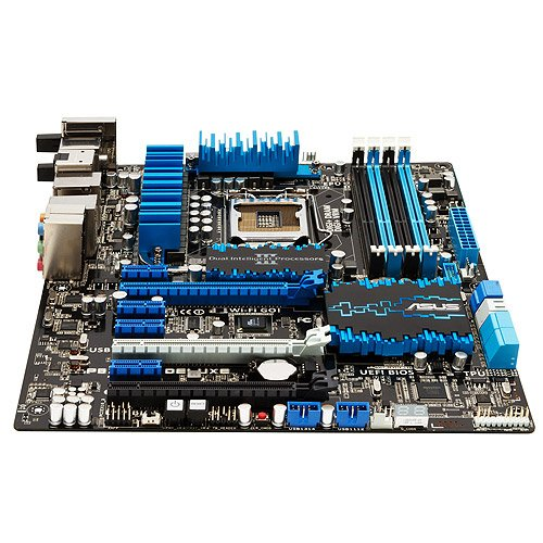 ASUS P8Z77-V DELUXE LGA 1155 Intel Z77 HDMI SATA 6Gb/s USB 3.0 ATX Intel Motherboard