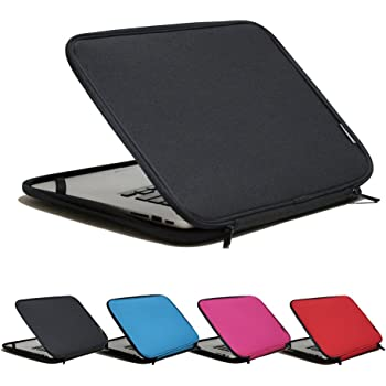 INNTZONE 15.6 Inch Stand-Type Laptop Sleeve case Bag Pouch Cover Notebook Carrying Case - Black