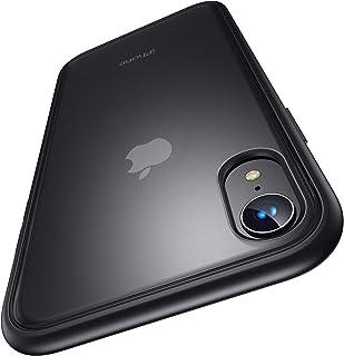 4段階衝撃防止 Humixx 半透明 iPhone XR ケース iPhone 10r ケース 滑り止め 米軍MIL規格取得 ワイヤレス対応可能 マット加工 黄ばみなし レンズ保護 6.1インチ アイフォンxr カバー スマホケース [Shoc...