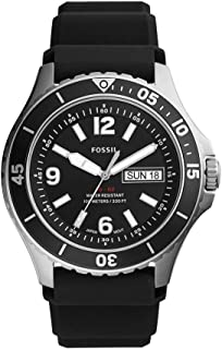 Fossil Analog Black Dial Men's Watch-FS5689