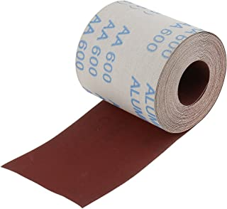 MonkeyJack 10m Long 100mm Wide Emery Cloth Roll 600 Grit Sandpaper for Cleaning Copper Pipe and Fittings
