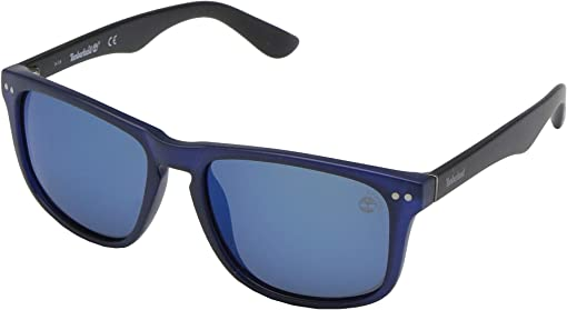 Matte Blue/Smoke Polarized